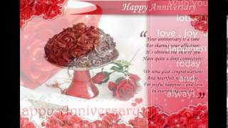 Wedding anniversary wishes ......