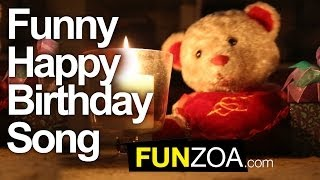 Funny Happy Birthday Song - Cute Teddy Sings Very Funny Song...