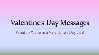 Happy Valentine Day Mesages......